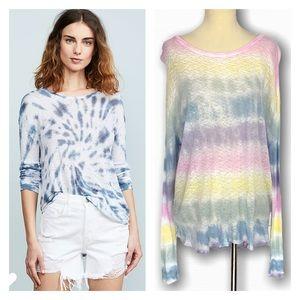 GENERATION LOVE Judi Tie Dye Long Sleeve T-Shirt